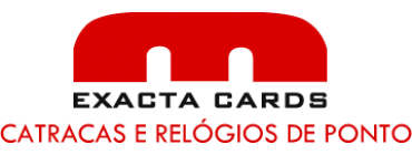 catraca leitor biometrico - Exacta Cards